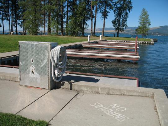 Campground Details Finley Point Unit Flathead Lake