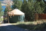 Photo: Salish, Yurts